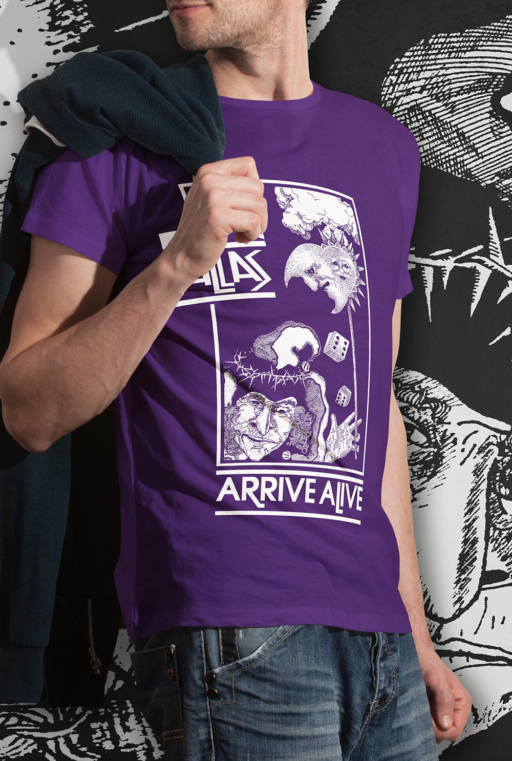 Pallas ARRIVE ALIVE T SHIRT<p>Unisex Gildan T Shirt In a range of 5 colours