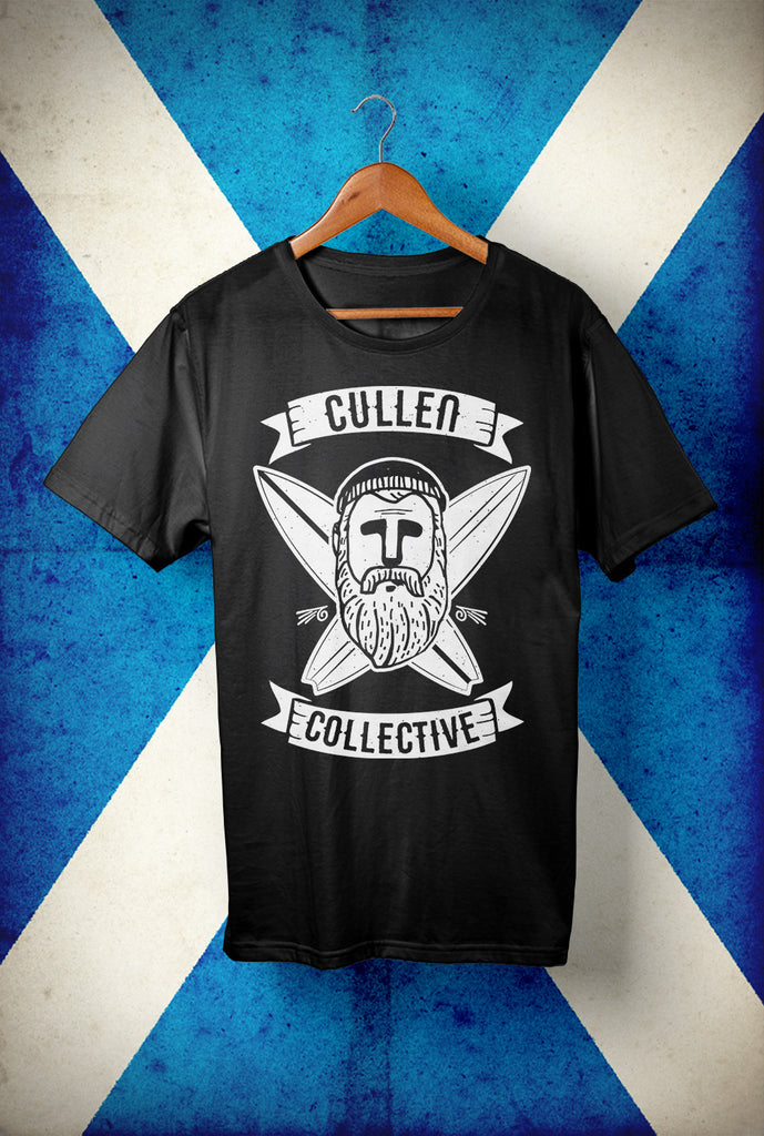 Cullen Collective Surfer <p> Unisex Gildan T Shirt In a Range of colours Custom T Shirt by Lets Get Shirty Dot Com