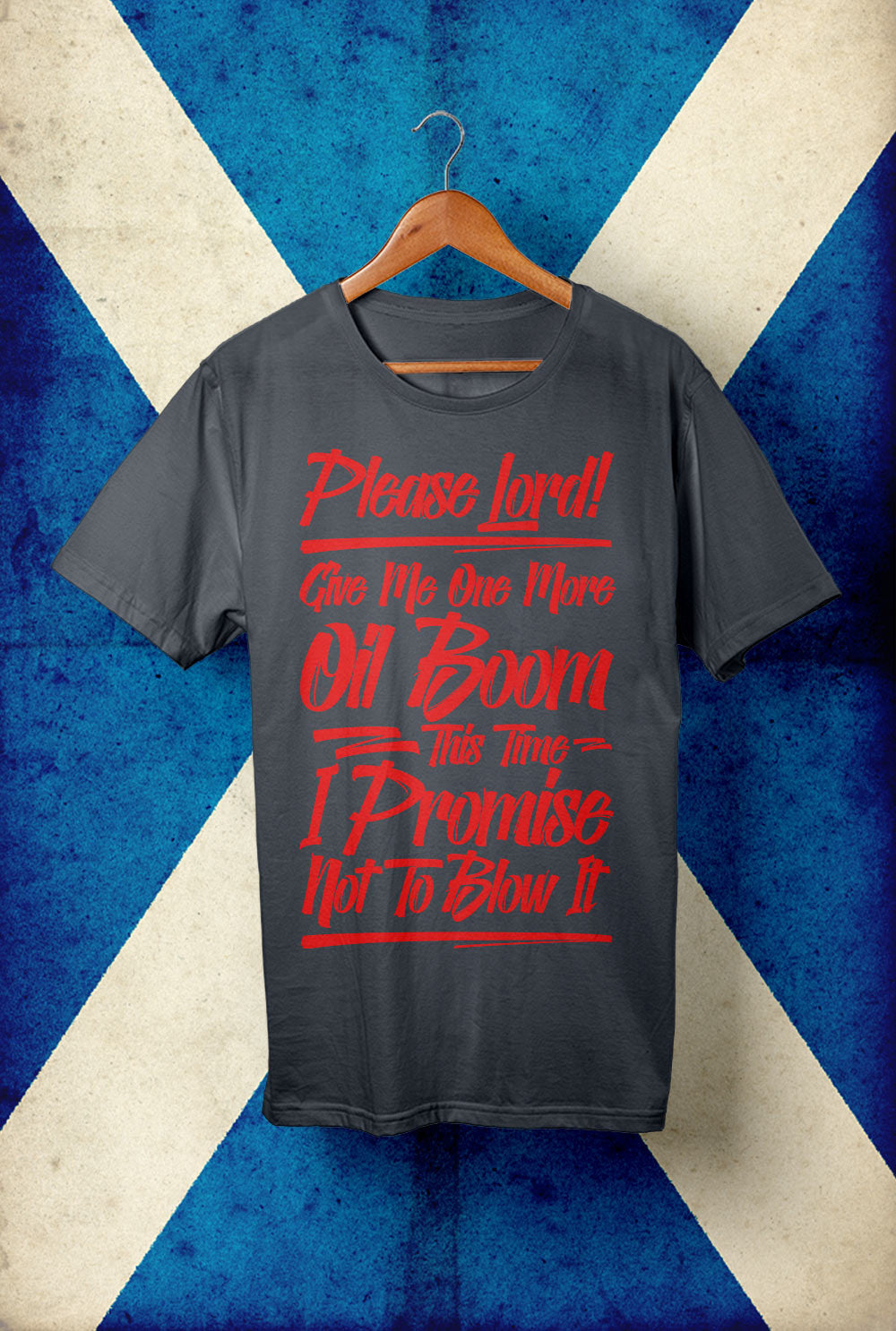 OIL BOOM <p> Unisex Gildan T Shirt In a Range of 10 colours Custom T Shirt by Lets Get Shirty Dot Com