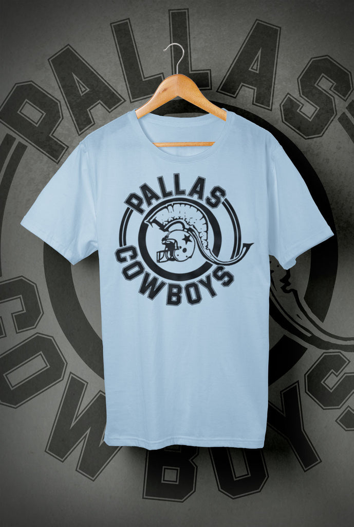 Pallas Cowboys Kids T Shirts<p> In Light Blue, Black, White, Red and Purple Custom T Shirt by Lets Get Shirty Dot Com