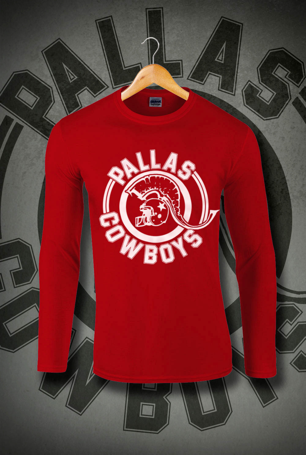 Pallas Cowboys Long Sleeve T-Shirt p  In Black 05b3c8ffa