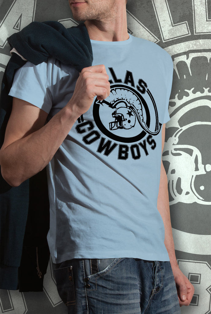 Pallas Cowboys T SHIRT<p>Unisex Gildan T Shirt In Black, Light Blue, Purple, Red, Dark Grey and White Custom T Shirt by Lets Get Shirty Dot Com