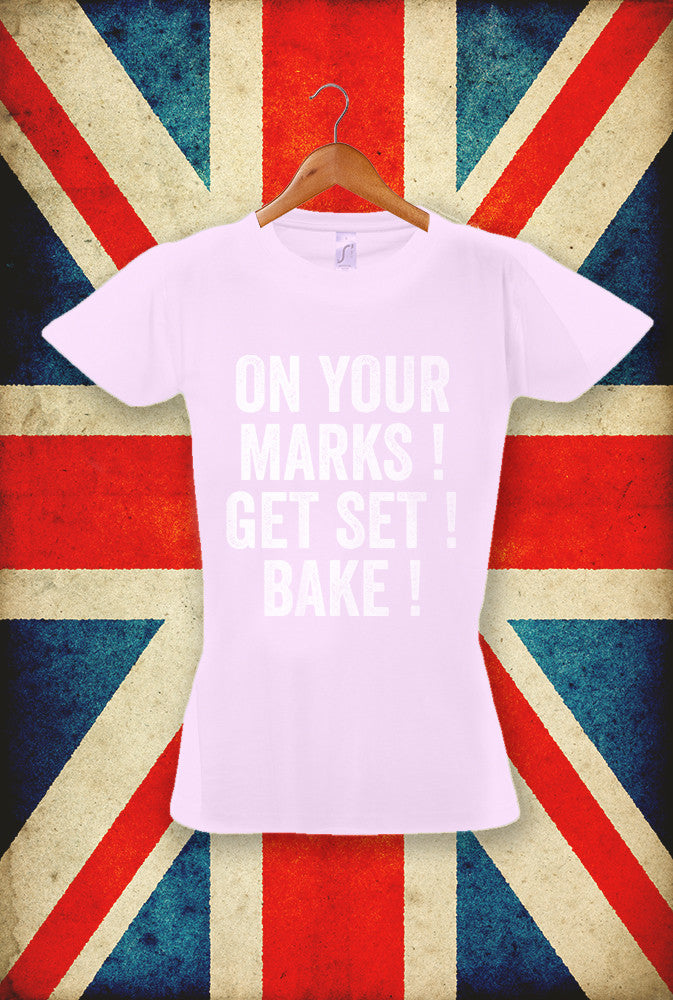 Get Set Bake! <p> Sol's Ladies Imperial T Shirt in 5 Pastel Shades Custom T Shirt by Lets Get Shirty Dot Com