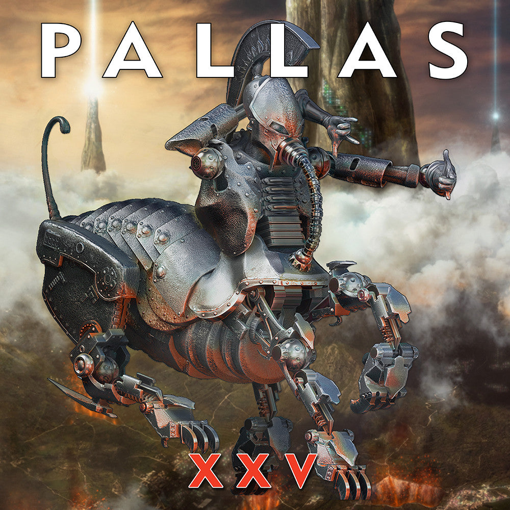 Pallas XXV cover Canvas Wall Art Custom T Shirt by Lets Get Shirty Dot Com
