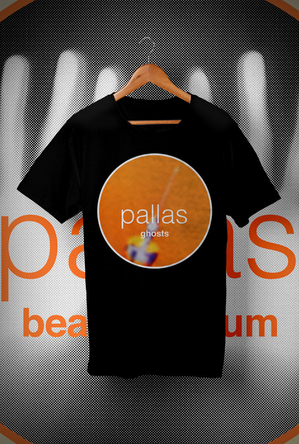 Pallas Beat the Drum - Ghosts  <p> Unisex Gildan T Shirt In a Range of 12 colours Custom T Shirt by Lets Get Shirty Dot Com