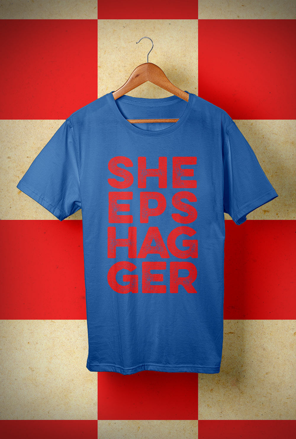 SHEEPSHAGGER <p> Unisex Gildan T Shirt In a Range of 10 colours Custom T Shirt by Lets Get Shirty Dot Com