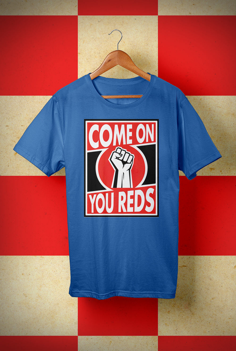 ABERDEEN RED ARMY T SHIRT ::  COME ON <p> Unisex Gildan T Shirt In a Range of colours