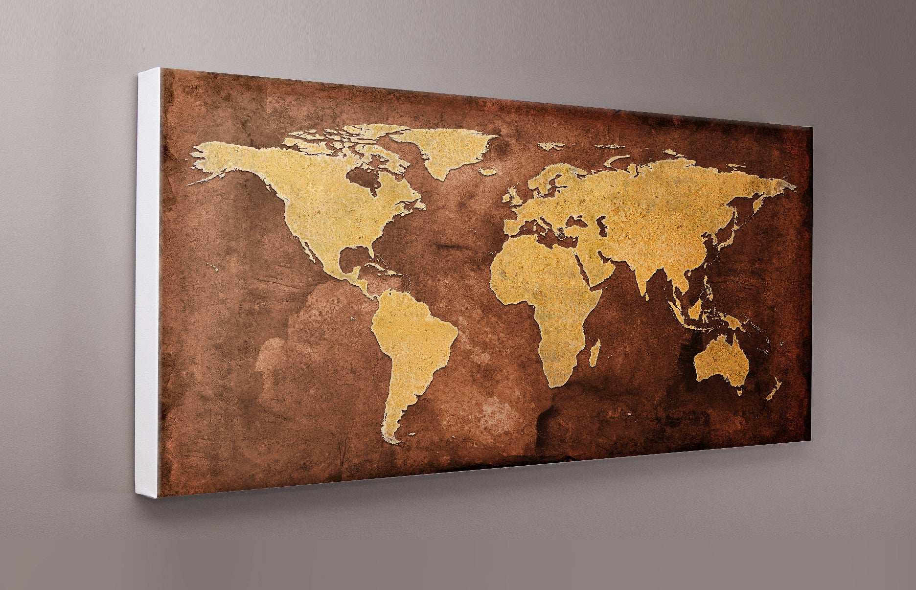 Grunge world map canvas wall print 2 lets get shirty grunge world map canvas wall print 2 gumiabroncs Gallery