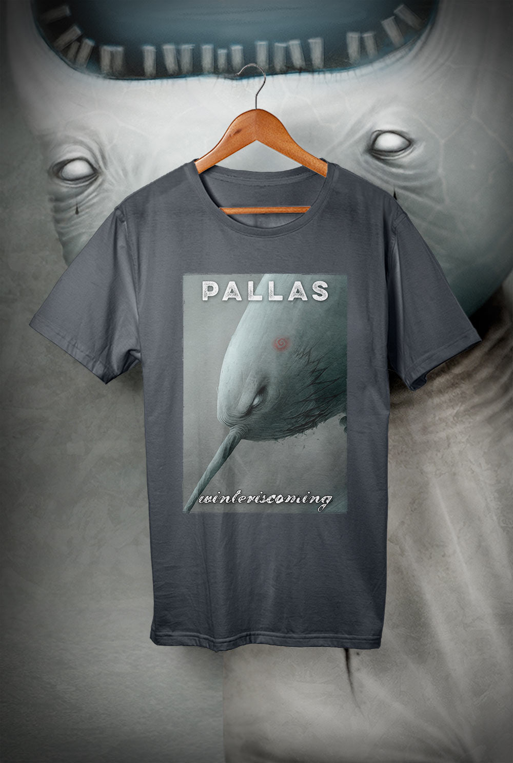 Pallas :: wearewhoweare 'Winter IS Coming'<p> Unisex Gildan T Shirt In a Range of 12 colours Custom T Shirt by Lets Get Shirty Dot Com
