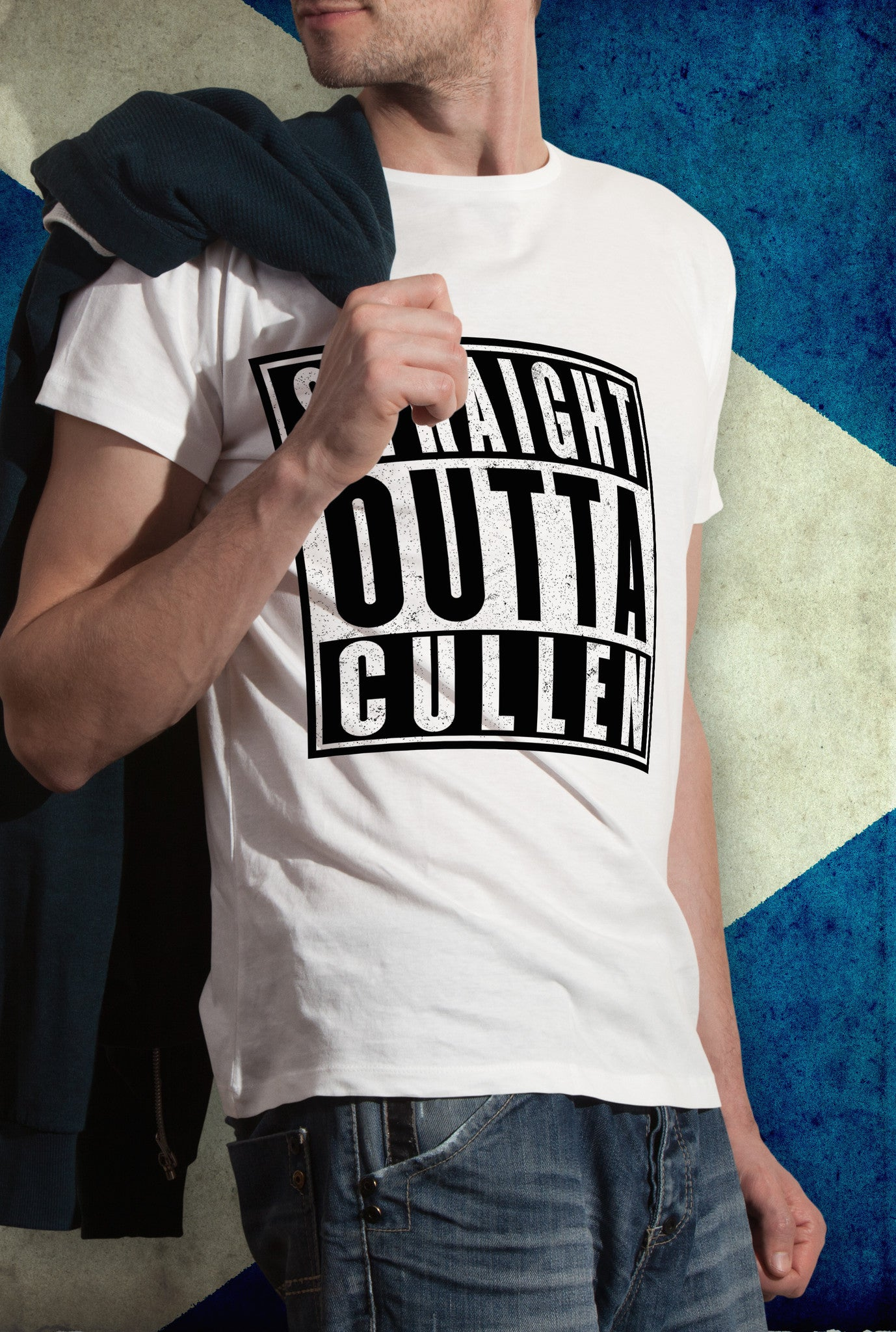 STRAIGHT OUTTA CULLEN !<p> Unisex Gildan T Shirt In Red White Or Black Custom T Shirt by Lets Get Shirty Dot Com