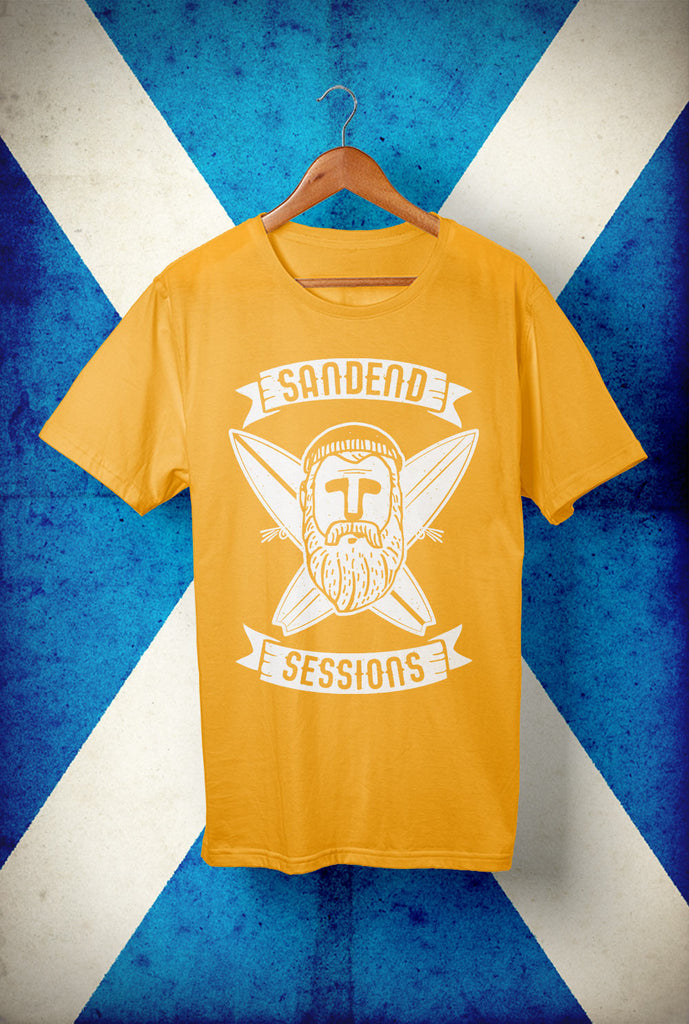 Sandend Sessions  - Surfer  <p> Unisex Gildan T Shirt In a Range of colours