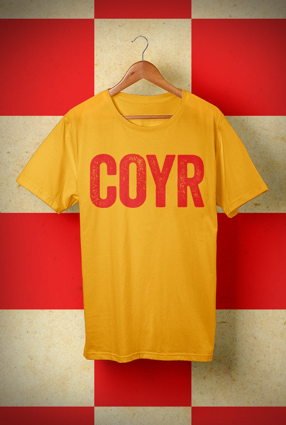 T shirt COYR Horizontal <p> Unisex Gildan T Shirt In a Range of 10 colours Custom T Shirt by Lets Get Shirty Dot Com