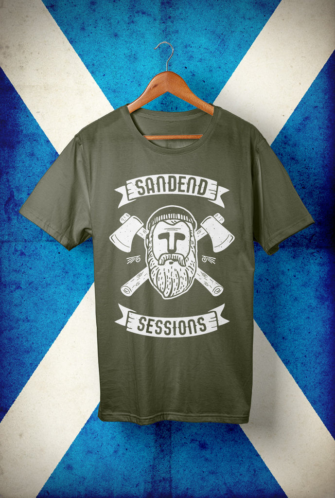 Sandend Sessions - Woodsman  <p> Unisex Gildan T Shirt In a Range of colours