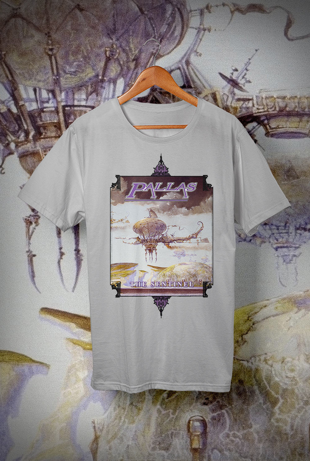 Pallas The Sentinel Flying Machine <p> Unisex Gildan T Shirt In a Range of 12 colours