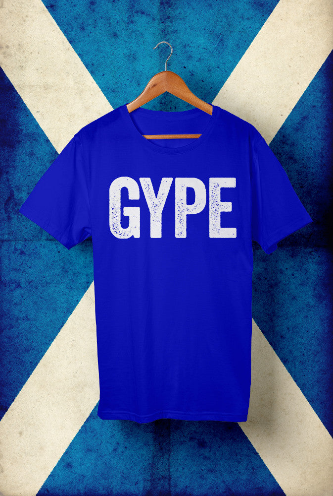 GYPE Horizontal <p> Unisex Gildan T Shirt In Red White Or Blue Custom T Shirt by Lets Get Shirty Dot Com