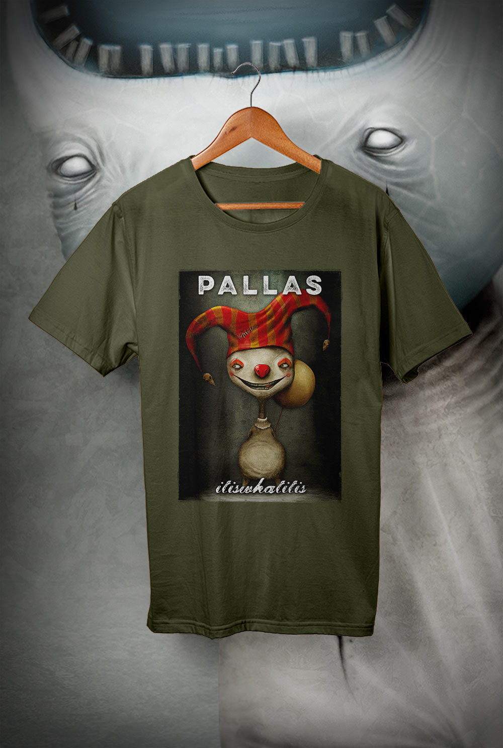 Pallas :: wearewhoweare 'It Is What It Is'<p> Unisex Gildan T Shirt In a Range of 12 colours Custom T Shirt by Lets Get Shirty Dot Com