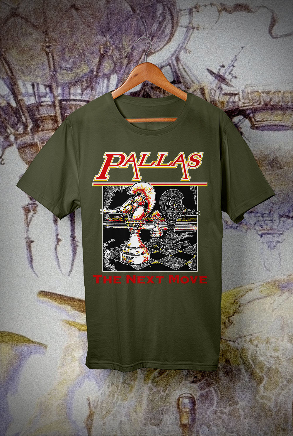 Pallas Next Move <p> Unisex Gildan T Shirt In a Range of 12 colours