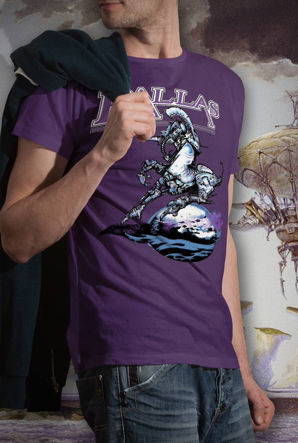 Pallas The Sentinel <p> Unisex Gildan T Shirt In a Range of 12 colours Custom T Shirt by Lets Get Shirty Dot Com