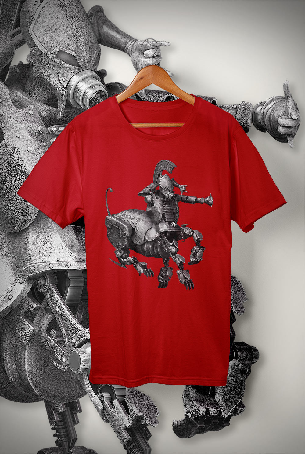 "Pallas :: XXV ""Flying Sentinel""<p> Unisex Gildan T Shirt In a Range of 12 colours Custom T Shirt by Lets Get Shirty Dot Com"