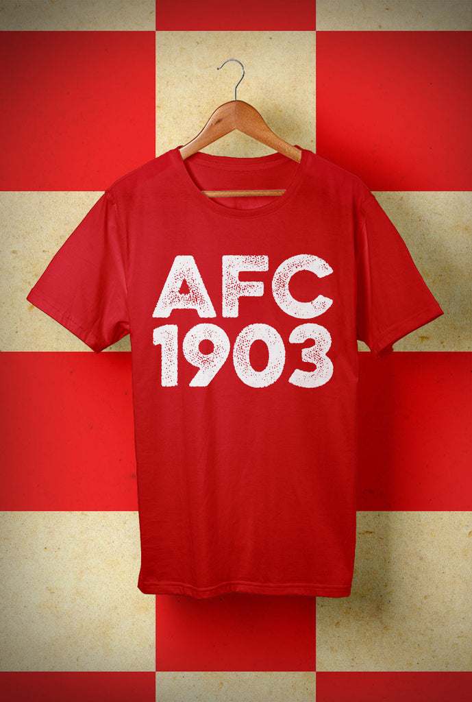 AFC 1903 <p> Unisex Gildan T Shirt In a Range of 10 colours Custom T Shirt by Lets Get Shirty Dot Com