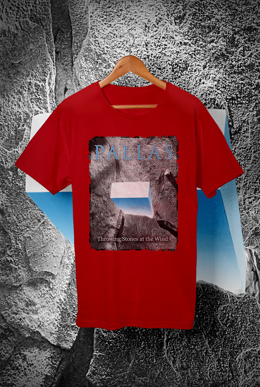 Pallas The Wedge - Throwing Stones <p> Unisex Gildan T Shirt In a Range of 12 colours Custom T Shirt by Lets Get Shirty Dot Com