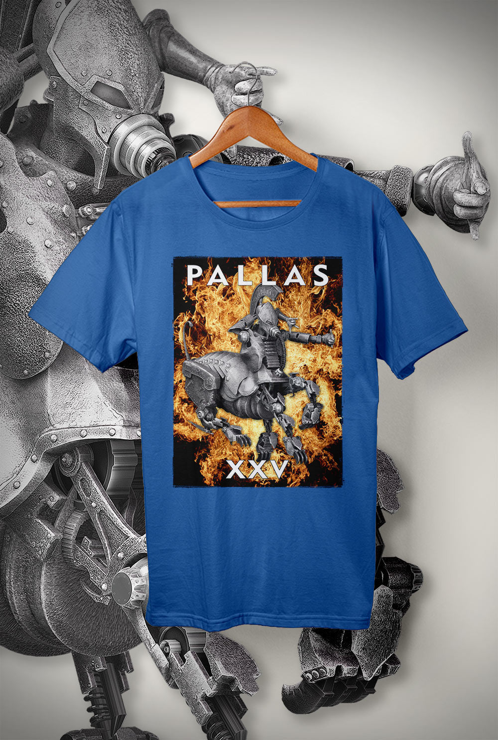 "Pallas :: XXV ""Cover Artwork""<p> Unisex Gildan T Shirt In a Range of 12 colours Custom T Shirt by Lets Get Shirty Dot Com"
