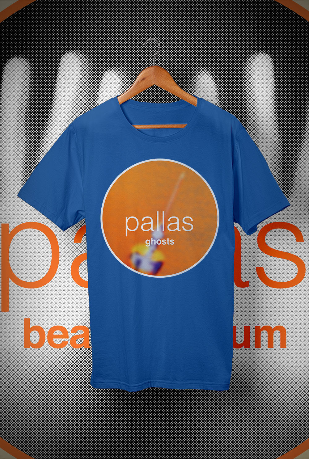 Pallas Beat the Drum - Ghosts  <p> Unisex Gildan T Shirt In a Range of 12 colours