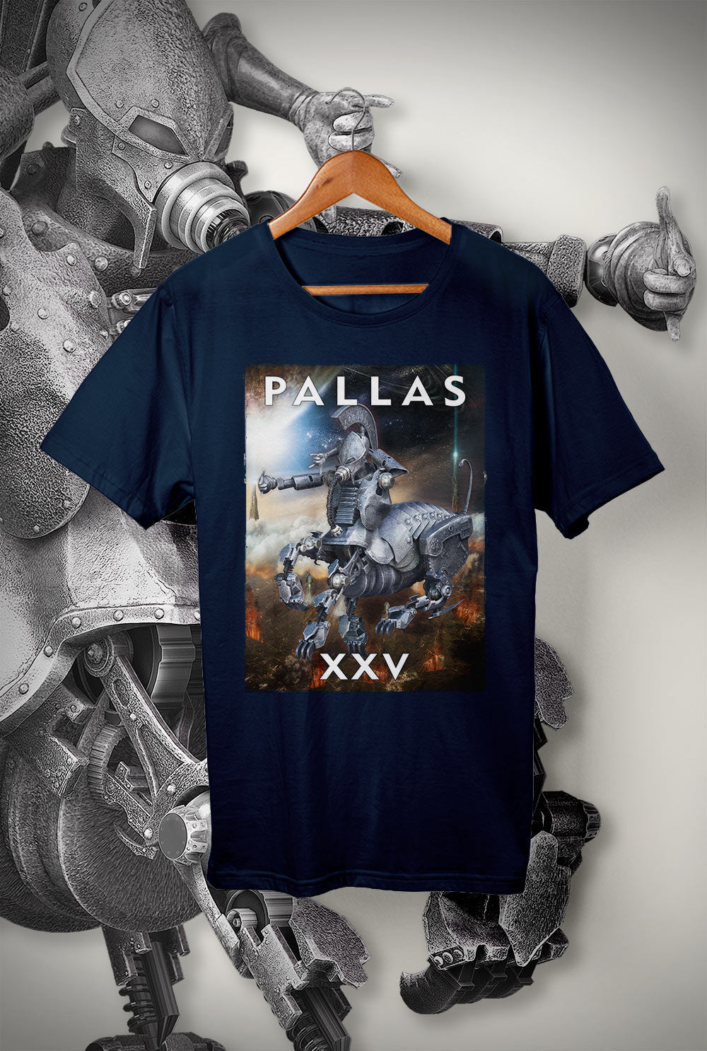 "Pallas :: XXV ""Sacrifice Artwork""<p> Unisex Gildan T Shirt In a Range of 12 colours Custom T Shirt by Lets Get Shirty Dot Com"