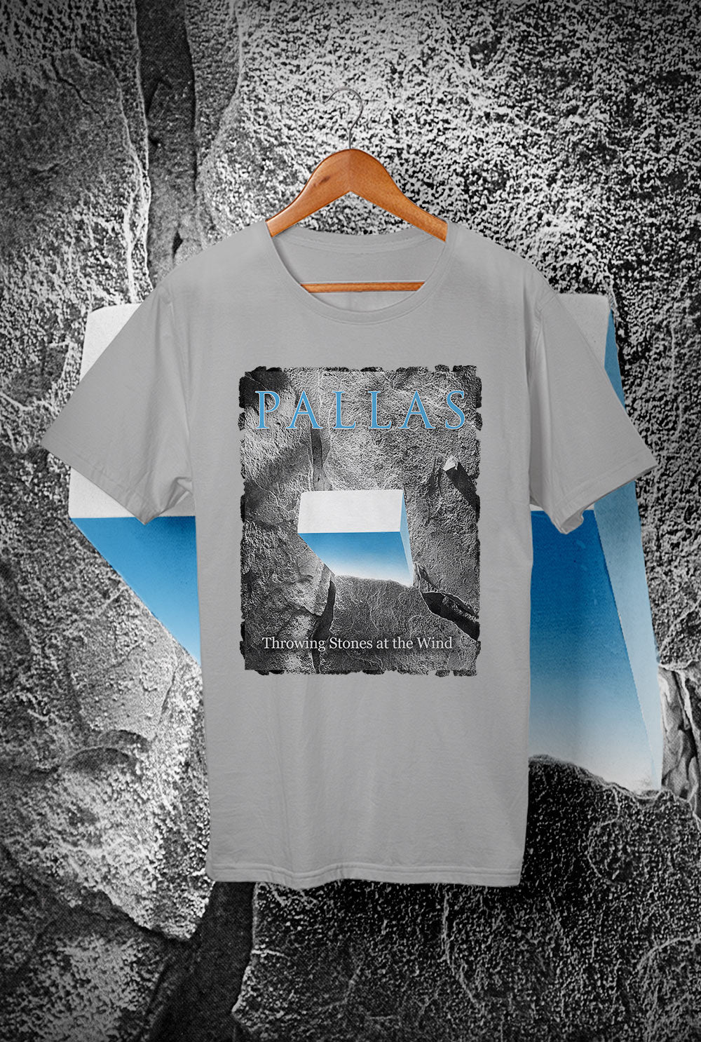 Pallas The Wedge- Throwing Stones <p> REMOVE Custom T Shirt by Lets Get Shirty Dot Com