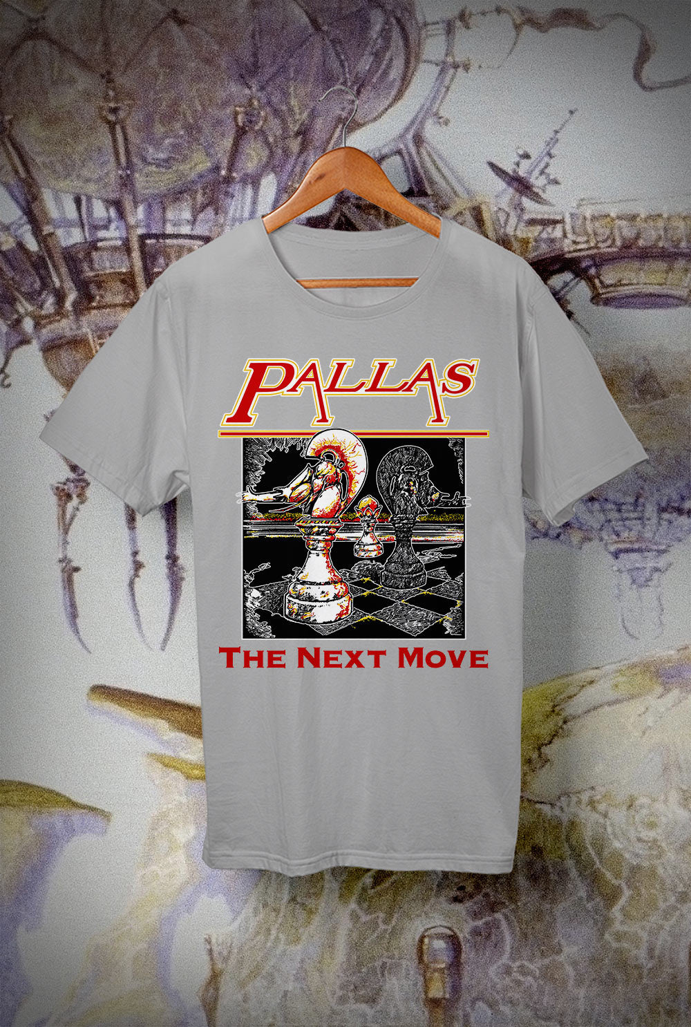 Pallas Next Move <p> Unisex Gildan T Shirt In a Range of 12 colours Custom T Shirt by Lets Get Shirty Dot Com