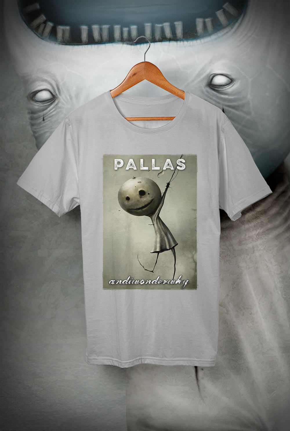 Pallas :: wearewhoweare 'And I Wonder Why'<p> Unisex Gildan T Shirt In a Range of 12 colours Custom T Shirt by Lets Get Shirty Dot Com
