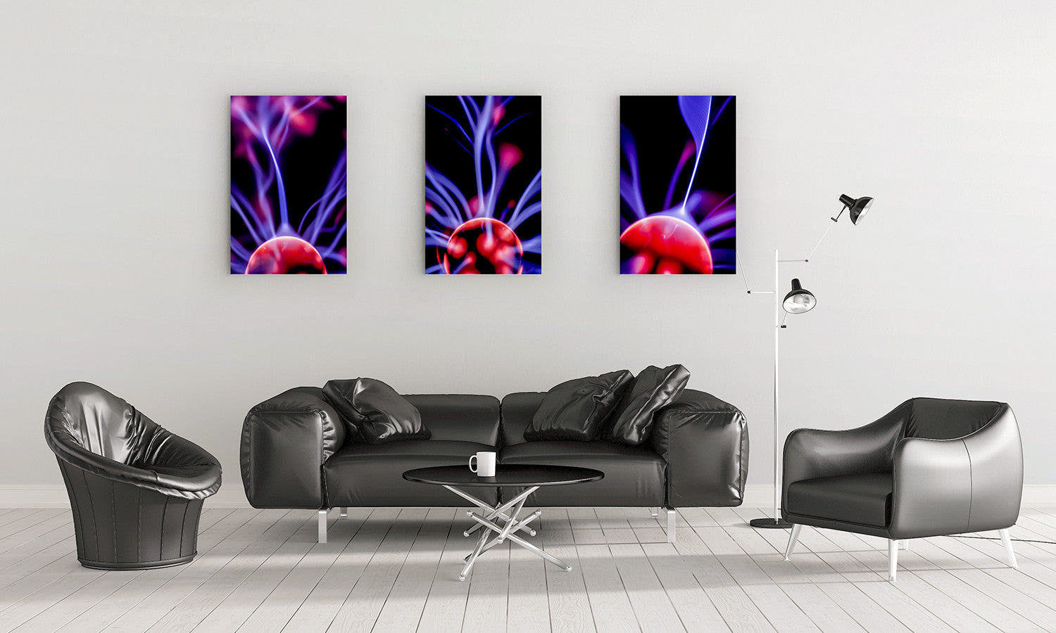 Plasma Wall Canvas 2 of 3