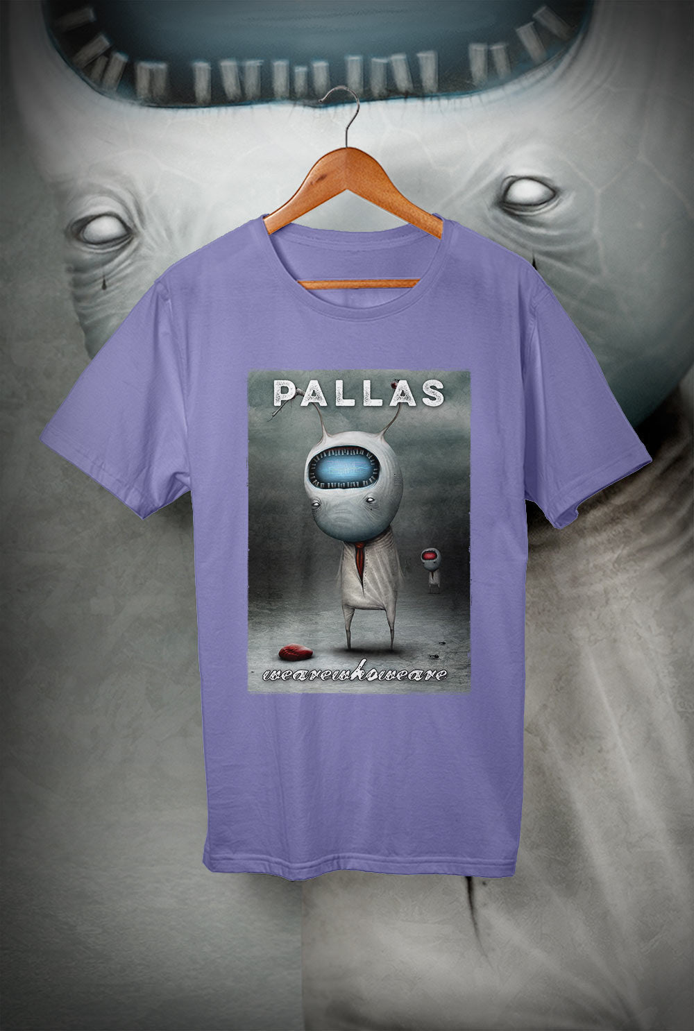 Pallas :: wearewhoweare 'Cover T Shirt'<p> Unisex Gildan T Shirt In a Range of 12 colours Custom T Shirt by Lets Get Shirty Dot Com