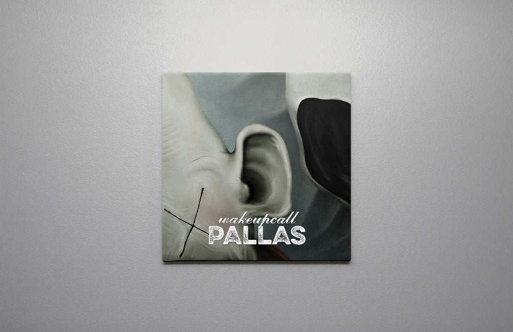 Pallas wearewhoweare Wake Up Call Canvas Wall Art Custom T Shirt by Lets Get Shirty Dot Com