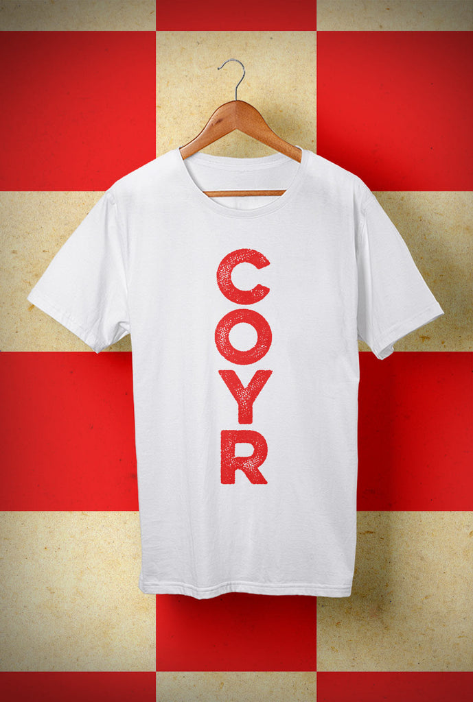 T shirt COYR Vertical <p> Unisex Gildan T Shirt In a Range of 10 colours Custom T Shirt by Lets Get Shirty Dot Com