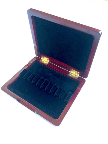 10 Oboe Reed Case - Wood