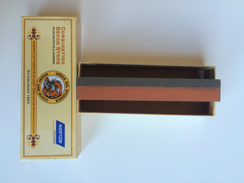 India Sharpening Stone (Combination Medium/Fine)