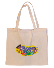 Bevy & Dave Canvas Puzzle Tote
