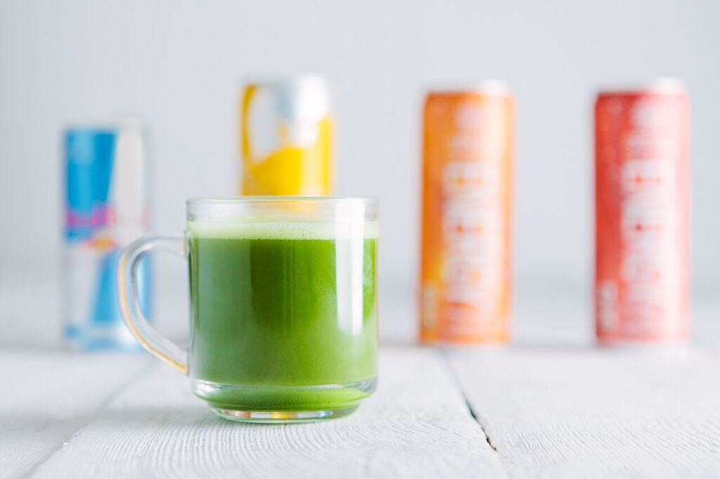 Matcha vs. Energy Drinks