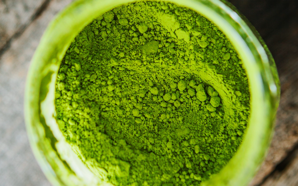 Why is Matcha Green?