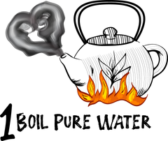 boil water for Japanese tea, what temperature?