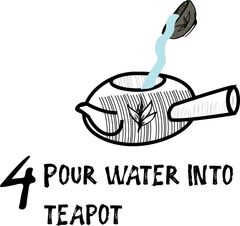 how to cool off your water for Japanese tea Kyusu method