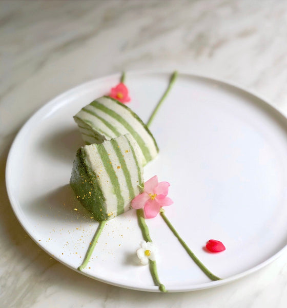zebra cakes, dream cakes, danish dream cake, matcha desserts, mint matcha ice cream, matcha lime ice cream