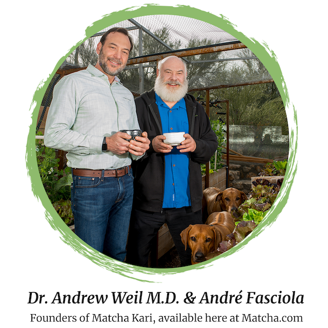 Dr Weil and Andre Fasciola