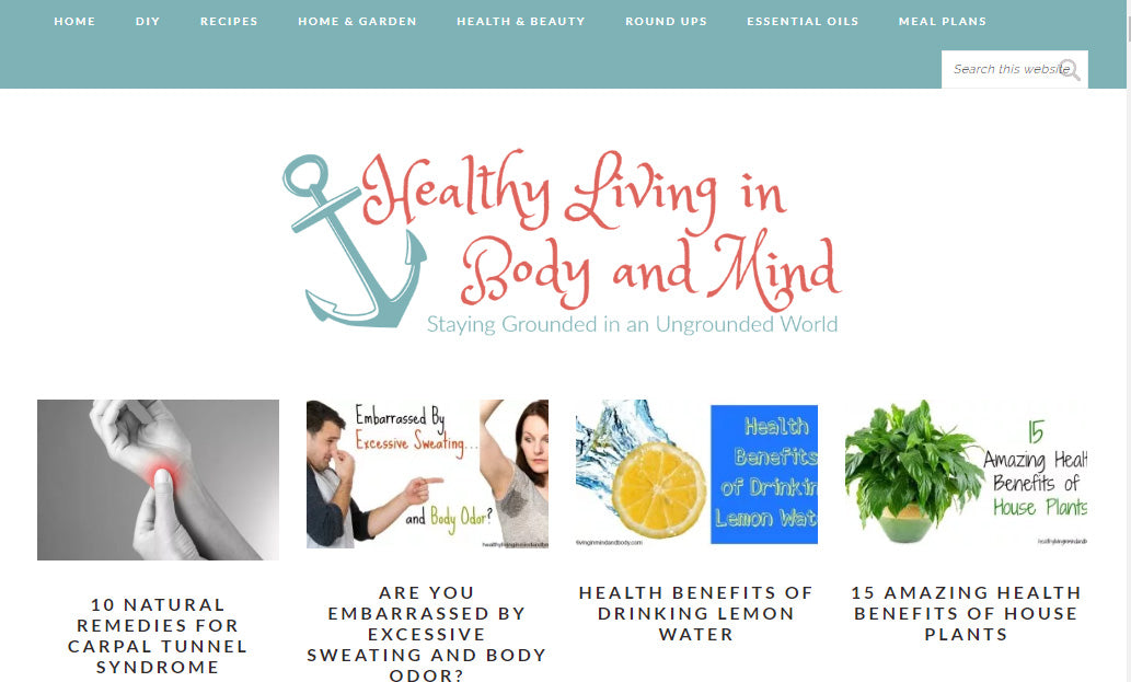 Healthy Living in Body and Mind