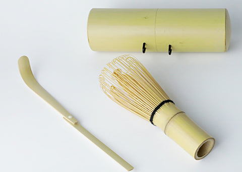 Travel Matcha Whisk | Mini Matcha Whisk and Scoop | Chasen, Chashaku