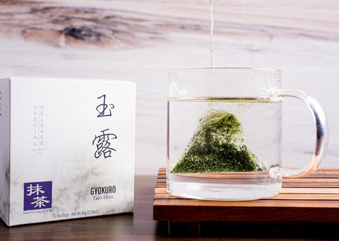 Gyokuro Tea Bags | Japanese Gyokuro Green Tea Bags