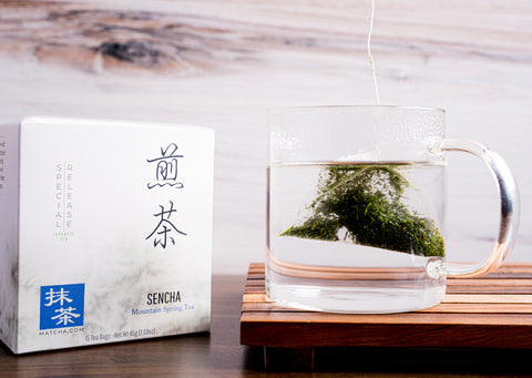 Sencha Tea Bags | Japanese Sencha Green Tea-bags