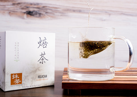 Hojicha Tea Bags | Japanese Roasted Green Tea-bags