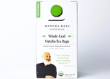 Whole-Leaf Matcha Tea Bags Gift Subscription